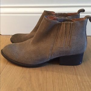 Jeffrey Campbell Booties, Tan. Size 6.5
